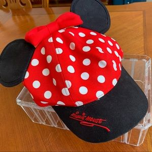 Disneyland Minnie Mouse Cap with Bow